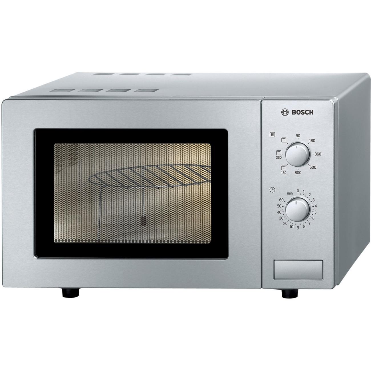 Bosch HMT72G450B17 Litre Microwave - & Grill - Brushed Steel