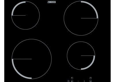 Zanussi ZEV6240FBV 60cm Ceramic Hob - Black