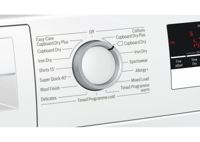 Bosch WTN83200GB 8kg Condenser Tumble Dryer - White - B Rated