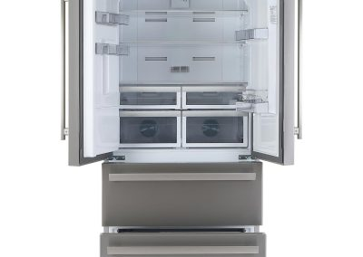 Blomberg KFD4952XDFrost Free American Style Fridge Freezer - Stainless Steel - A+ Rated