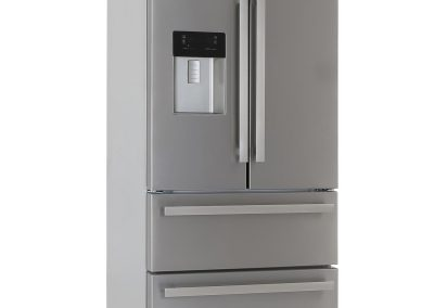 Blomberg KFD4952XD Frost Free American Style Fridge Freezer - Stainless Steel - A+ Rated