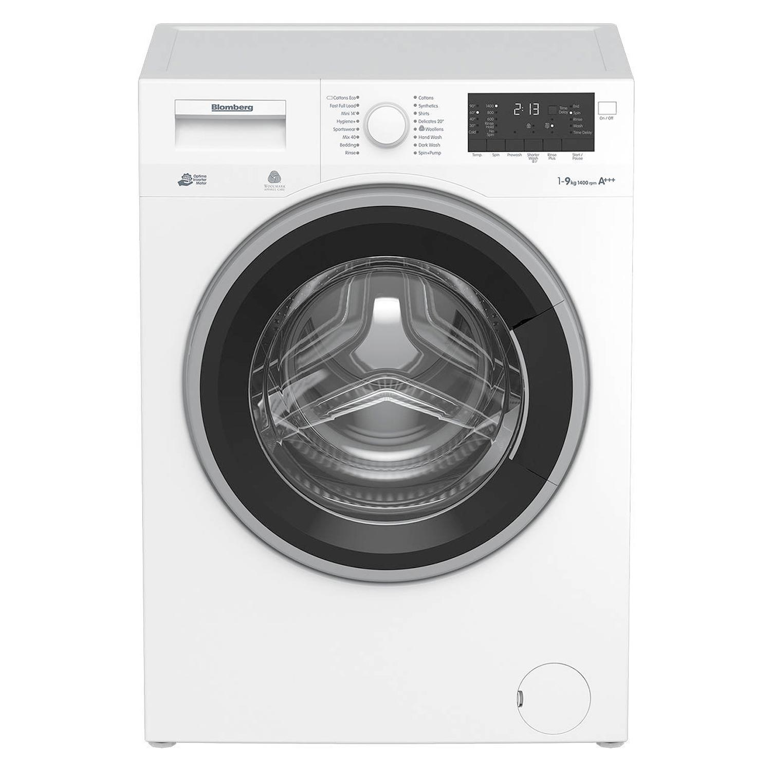 Blomberg LWF29441W9kg 1400 Spin Washing Machine - White - A+++ Rated