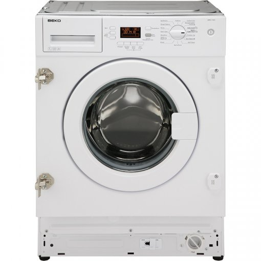 Beko WIC74545F2 Integrated 7kg 1400 Spin Washing Machine - White - A+++ Rated