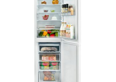 Beko CCFM1582W 55cm Frost Free Fridge Freezer - White - A+ Rated