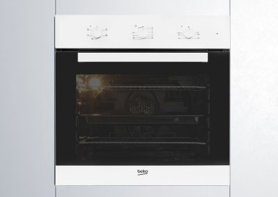 Beko CIF71W Built In Electric Single Oven - White - A Rated
