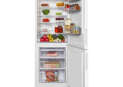Beko CCFH1675W 60cm Frost Free Fridge Freezer - White - A+ Rated