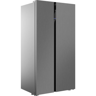 Beko RASFLE72PX American Style Frost Free Fridge Freezer - Brushed Steel Finish - A+ Rated