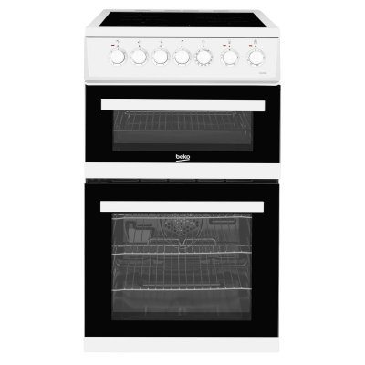 Beko EDVC503W 50cm Single Oven Gas Cooker - White