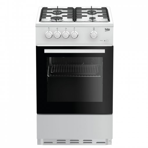 Beko ESG50W 50cm Single Oven Gas Cooker - White