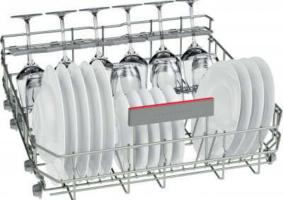 Bosch SMS46MW02G Full Size Dishwasher with VarioDrawer Tray - White - A++ Rated