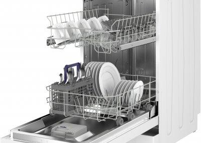 Beko DFS05C10W Slimline Dishwasher - White - A+ Rated