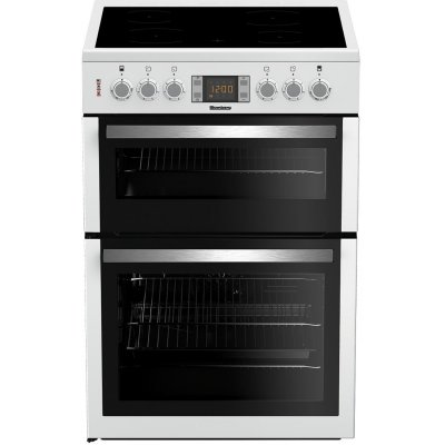 Blomberg HKN64W 60cm Double Oven Electric Cooker - White - A/A Rated