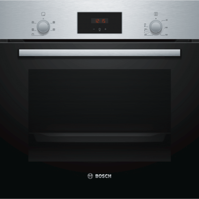 Bosch HHF113BR0B Built In Electric Single Oven - Stainless Steel - A Rated