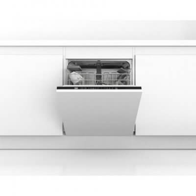 Beko DIN15C10 Integrated Full Size Dishwasher - A Rated