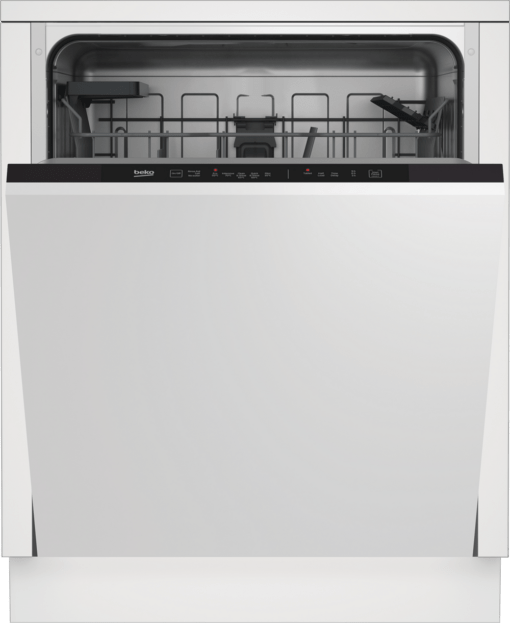 Beko DIN15C20 Integrated Dishwasher - Stainless Steel - A++ Energy Rated