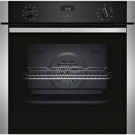 Neff B1ACE4HN0B  Built In Electric Single Oven - Stainless Steel - A+ Rated