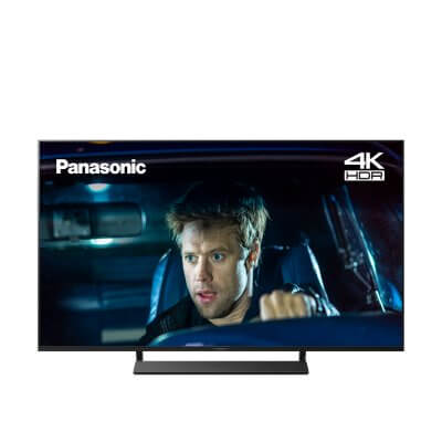 "Panasonic TX-40GX800B LED HDR 4K Ultra HD Smart TV, 40"" with Freeview Play, Graphite & Black"