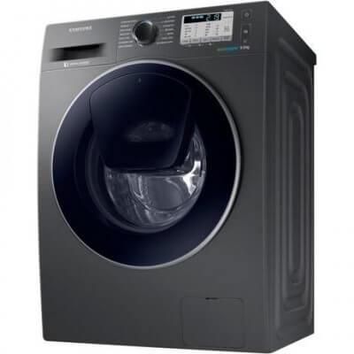 Samsung WW90K5413UX 9kg 1400 Spin AddWash Washing Machine - Inox - A+++ Rated