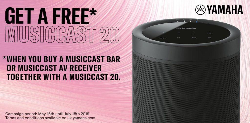 Yamaha MusicCast 20 Summer 2019 Offer