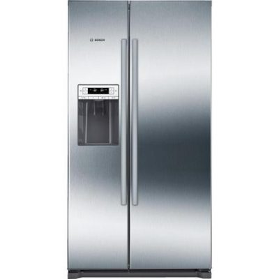 Bosch KAD90VI20G Ice & Water American Style Fridge Freezer - Stainless Steel Effect