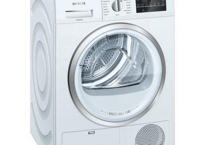 Siemens extraKlasse WT46G491GB iQ500 9kg Condenser Tumble Dryer - White - B Rated