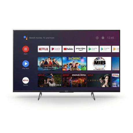 "Sony KD49XH8505BU 49"" 4K UHD Smart TV - B Energy Rated"