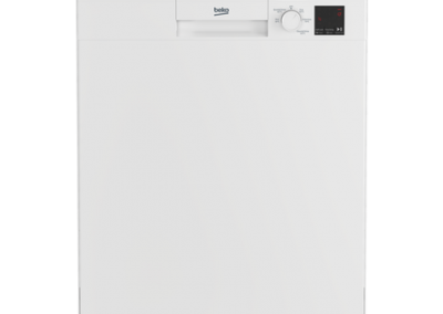 Beko DVN05C20W Full Size Dishwasher - White - A++ Energy Rated