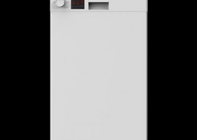 Beko DVS05C20W Slimline Dishwasher - White - A++ Energy Rated