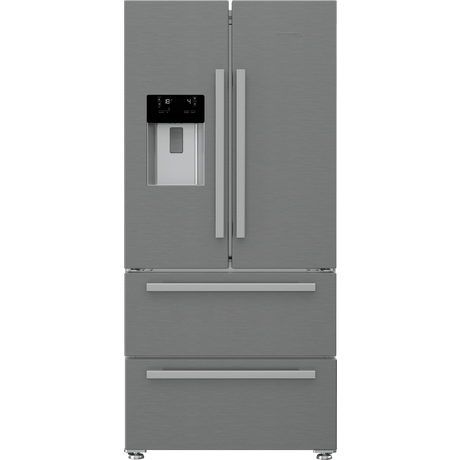 Blomberg KFD4953XD Frost Free American Style Fridge Freezer - Stainless Steel - A+ Energy Rated