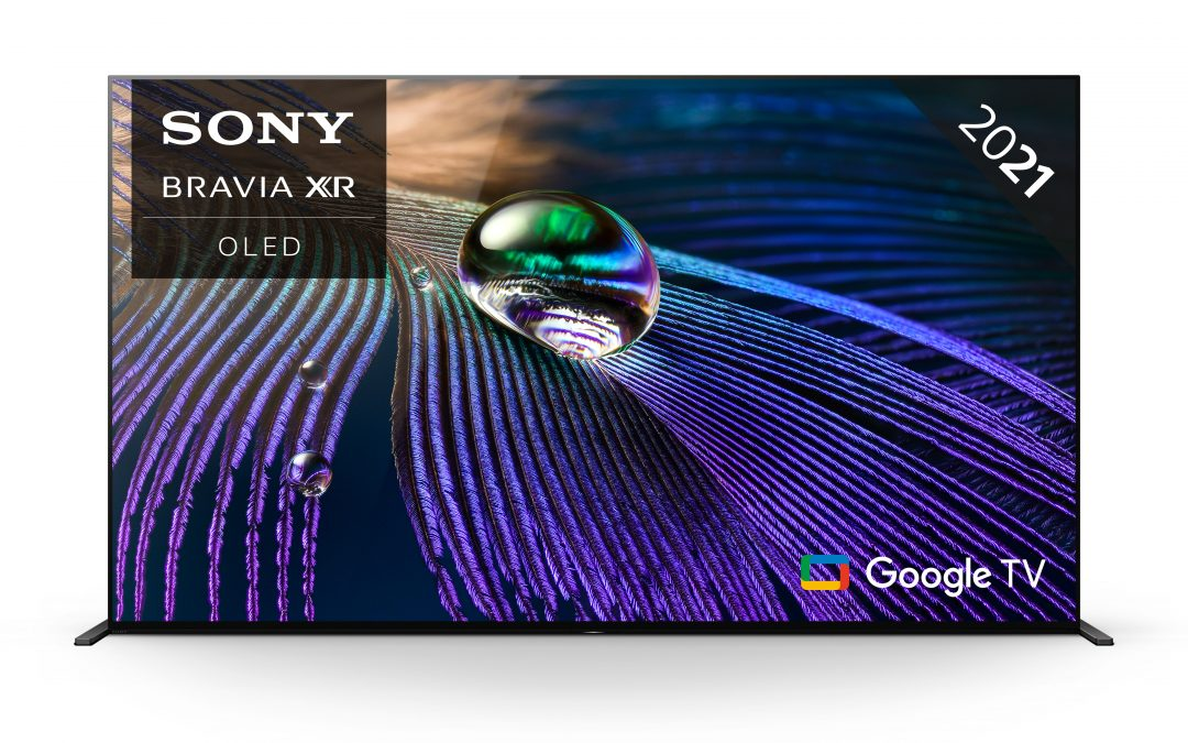 Sony BRAVIA XR65A90JU 65 inch OLED 4K Ultra HD HDR Smart Google TV YouView