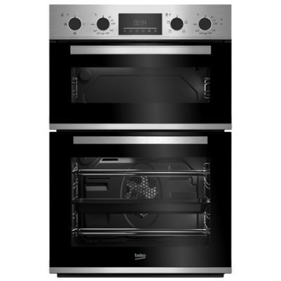 Beko CDFY22309X Built In Electric Double Oven - Stainless Steel