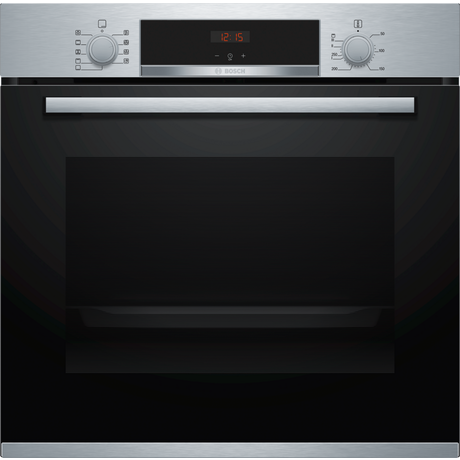 Bosch HBS573BS0B Built In Electric Single Oven with 3D Hot Air - Stainless Steel - A Rated