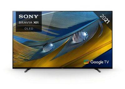 """Sony XR55A80JU 55"""" BRAVIA XR OLED 4K HDR Google TV"""