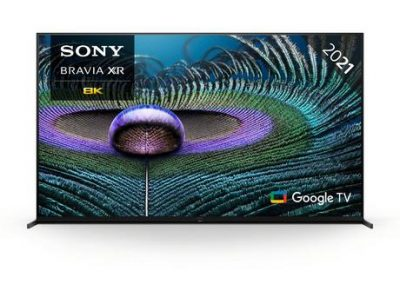 "Sony XR75Z9JU 75"" BRAVIA XR MASTER Series Full Array 8K HDR Google TV"