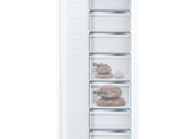Bosch GIN81AEF0G 55.8cm Built In Tall Freezer - White - Frost Free