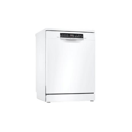 Bosch SMS6ZDW48G Full Size Dishwasher - White - 13 Place Settings