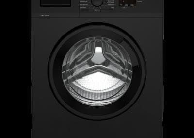 Beko WTK72042B 7kg 1200 Spin Washing Machine with Quick Programme - Black