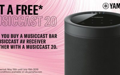 Yamaha MusicCast 20 Summer 2019 Offer