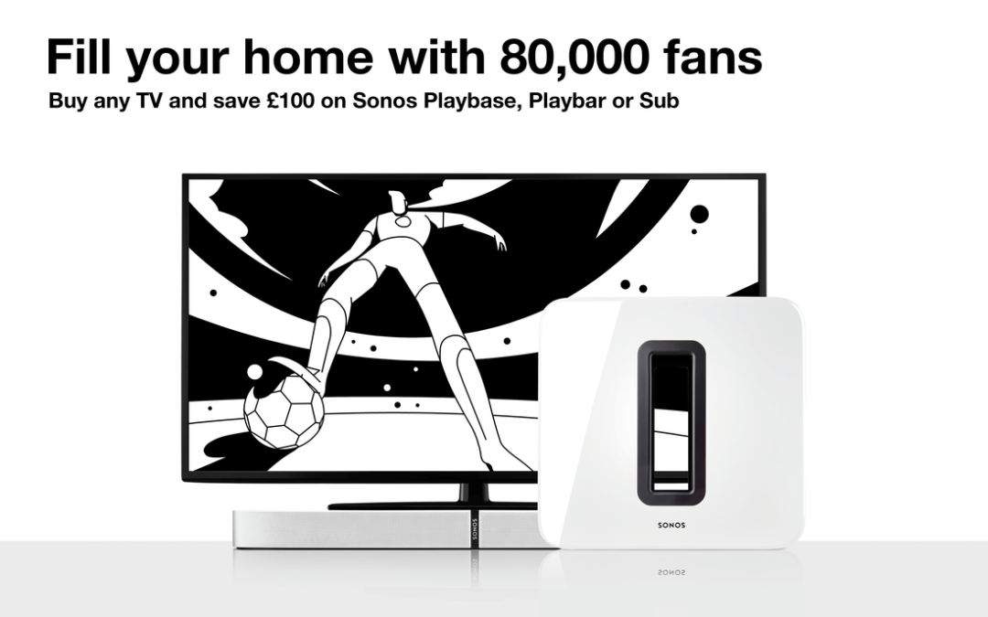 Sonos World Cup Promotion 2018